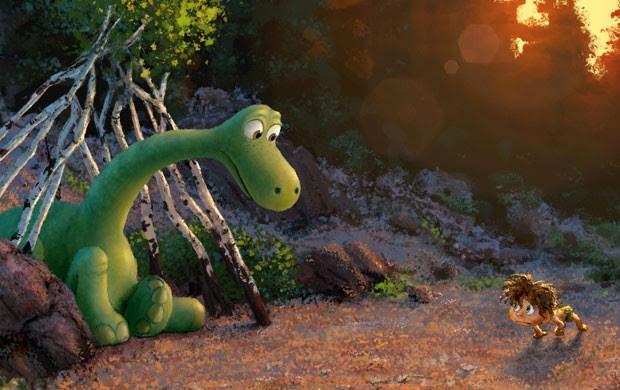 'O Bom Dinossauro' é o novo filme da Pixar (Foto: Divulgação/Pixar)