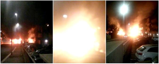 L'esplosione dei bus a metano