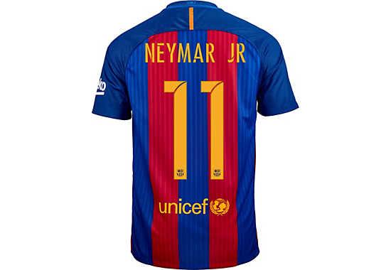 Nike Neymar Barcelona Jersey - 2016 Barcelona Jerseys