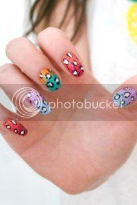 leopard nail art tutorial