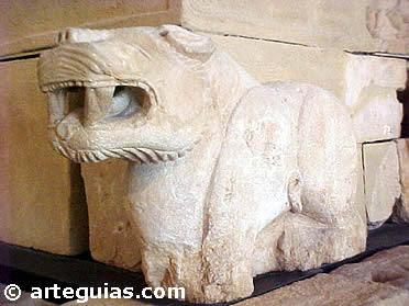 Piezas escultóricas del Monumento de Pozo Moro (Arte Ibérico)