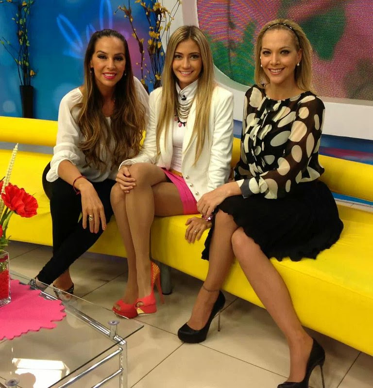 Carla Morón, María Renée Antelo y Verónica Larrieu