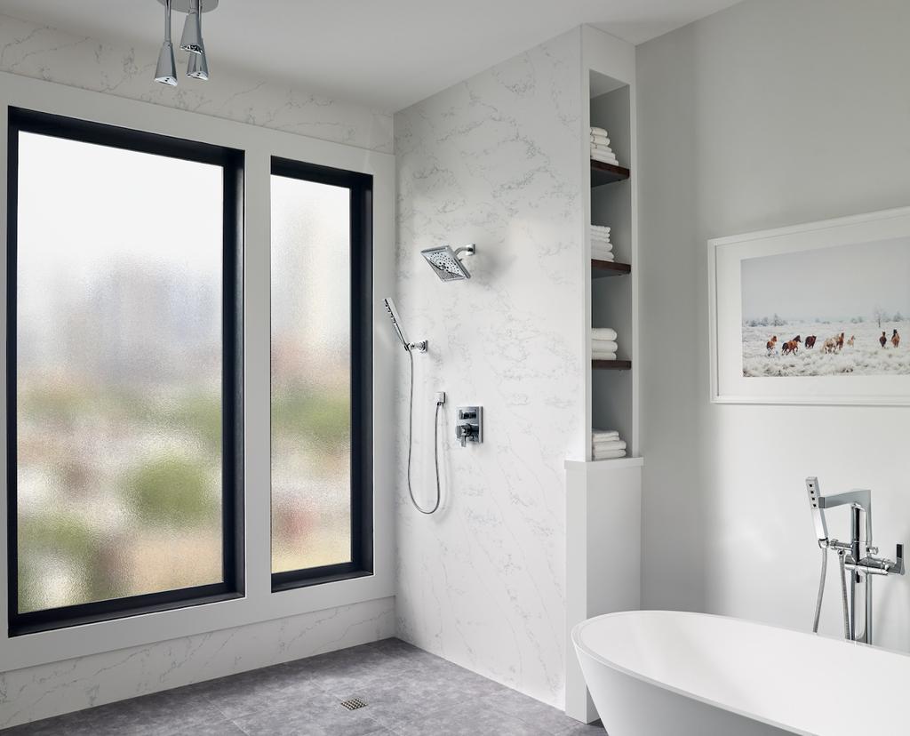 Quartz Shower Walls: Advantages of Quartz over Traditional Tile