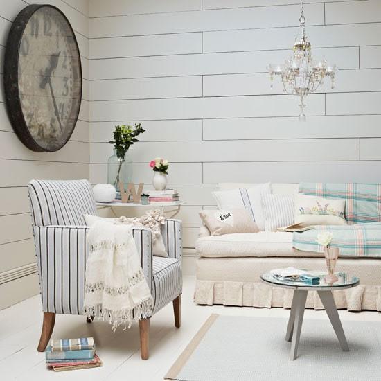 Nautical living room   Living room idea   Clock   Image   Housetohome