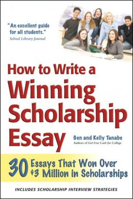 how to write an scholarship essay