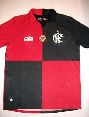 Camisa comemorativa dos 100 anos do futebol Rubro-Negro (Foto: Divulgação)