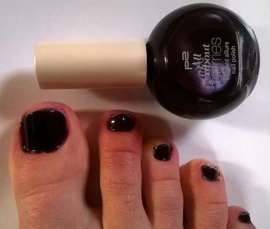 p2 all about berries elegant allure nail polish, Farbe: 080 plum passion (LE)