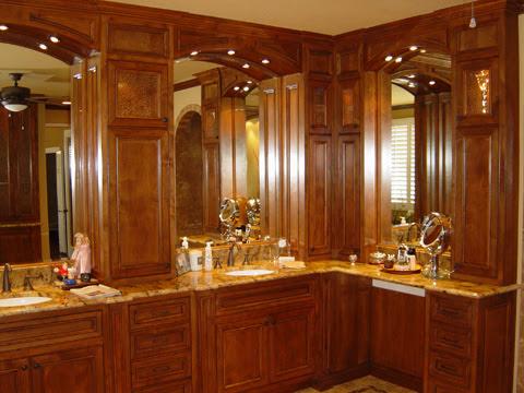 Bathroom Design Gallery on Custom Order Bathroom Cabinets   Various Custom Order Bathroom