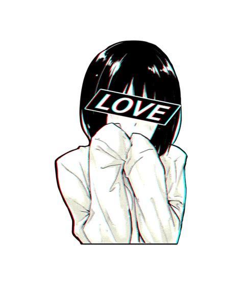 love sad japanese aesthetic sweatshirt unisex size sml