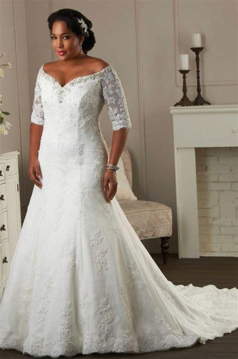 Wedding dresses for full figured women (update July