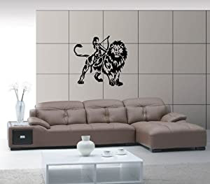 Amazon.com - Leo Horoscopes Astrology Design Animal Decor Wall