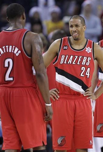 Trail Blazers Warriors Basketball