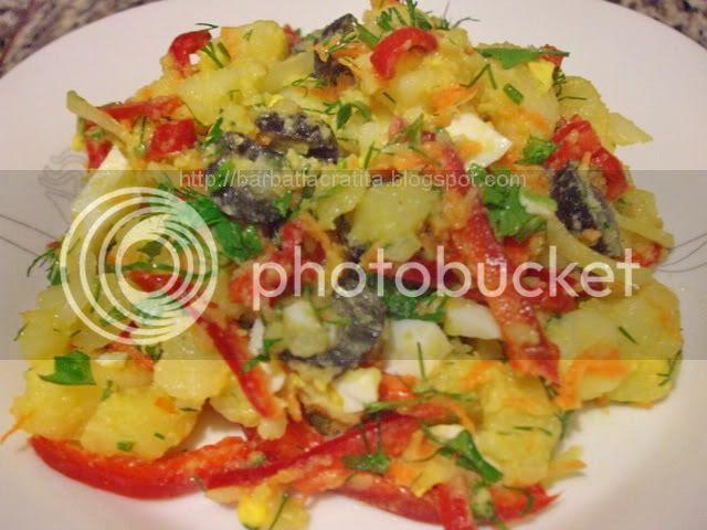 Salata orientala reteta