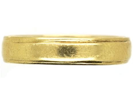 14ct Gold Wedding Band   The Antique Jewellery Company