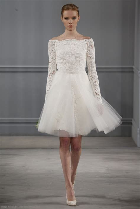 Monique Lhuillier Spring 2014 Bridal Dress Collection