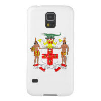 Grunge Jamaica coat of arms designs Galaxy S5 Cases