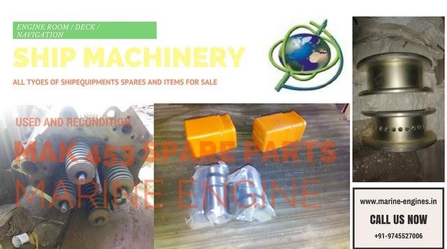 MAK 453 Spare Parts Supplier