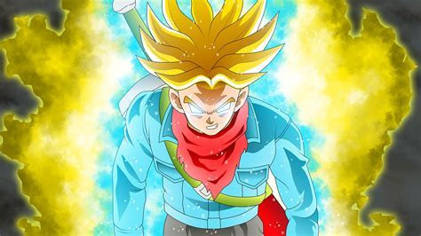 Future Trunks Super Saiyan DBS Anime  Wallpaper #40149
