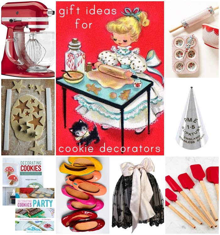 christmas gift ideas for cookie decorators and bakers