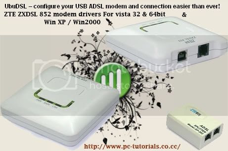 ADSL MODEM Drivers Download USB
