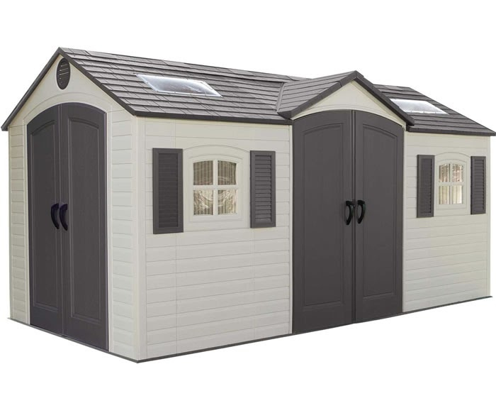 Gres spare parts for keter garden storage shed for Garden shed repair parts