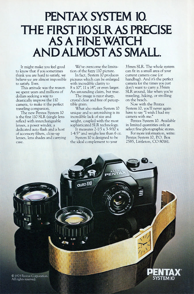 Pentax Auto 110 Ad - 1979