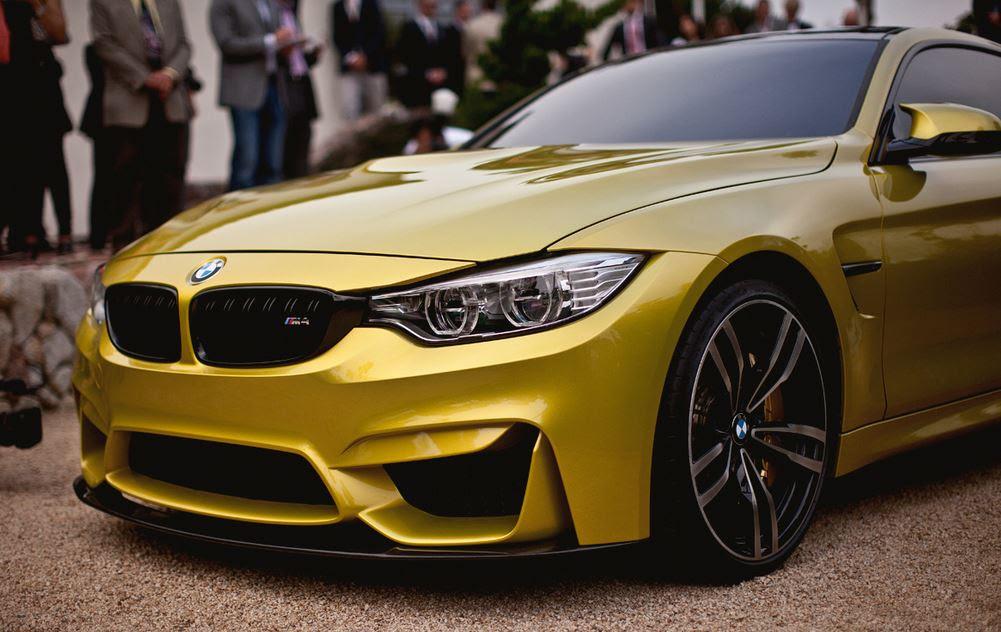 Bmw M4 Gold