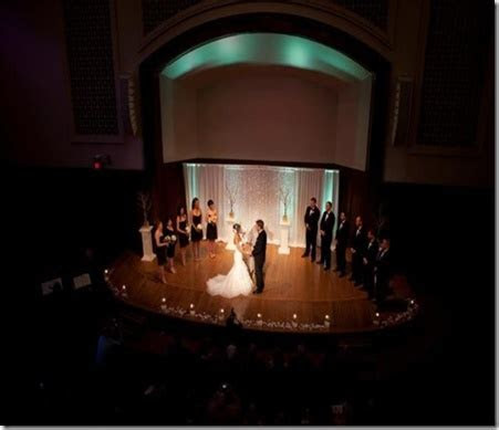 Wedding at The Sheldon Concert Hall in Grand Center St