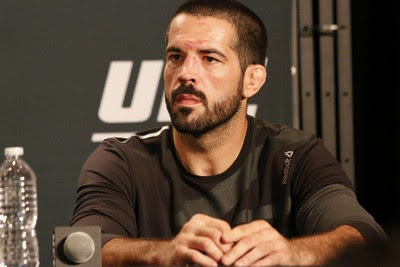 Matt Brown coletiva UFC 189 (Foto: Evelyn Rodrigues)