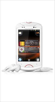 Whatsapp on Sony Ericsson Live with Walkman