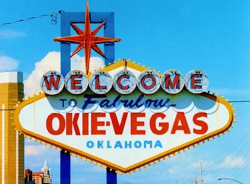 welcome to okie vegas oklahoma