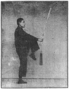 《昆吾劍譜》 李凌霄 (1935) - posture 74