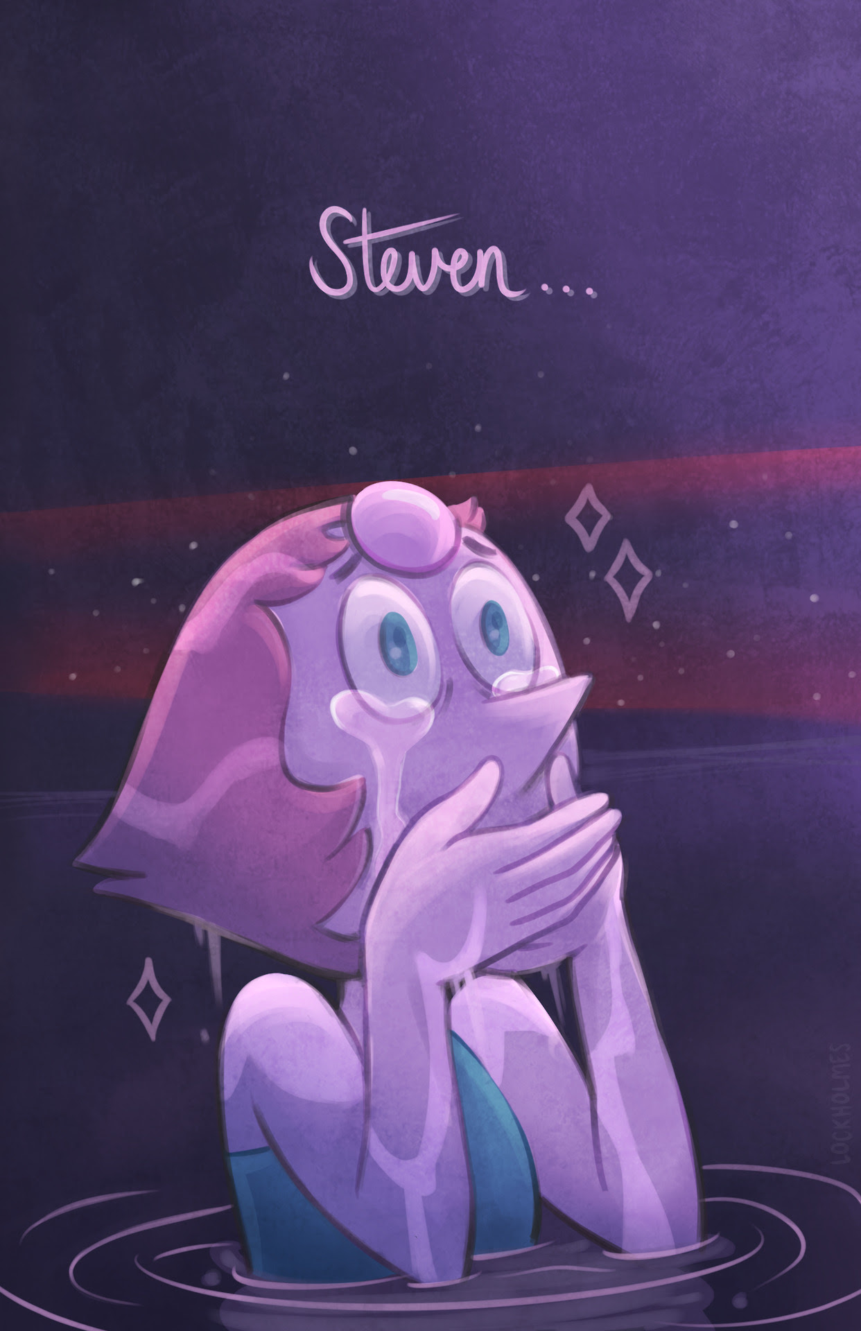 The new Steven Universe episodes wrecked me… that cliffhanger. ~Just something quick, but I want to draw more