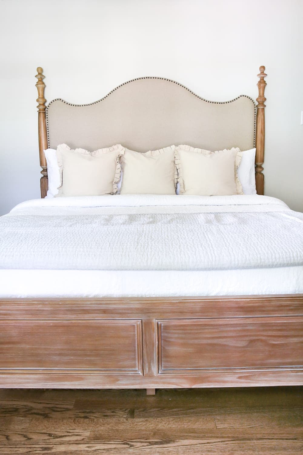 Master Bedroom Update: Pickled Pine Furniture - Bless'er House