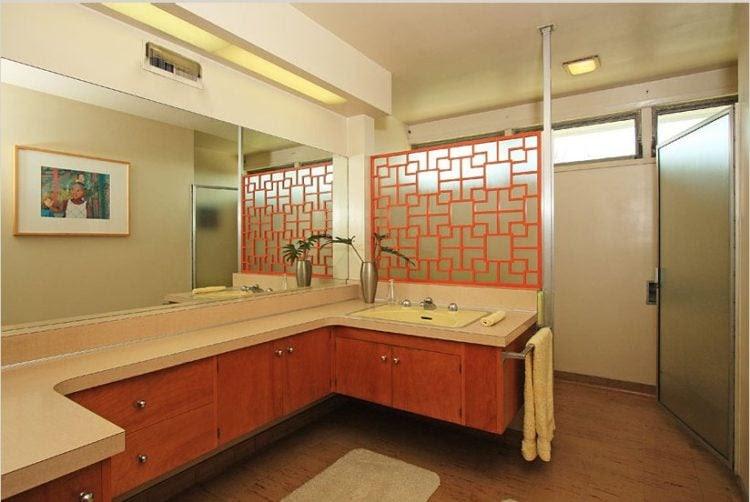 20 Mid-Century Modern Design Bathroom Ideas