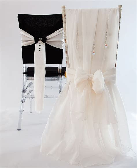 His&Hers wedding chair covers at CCD!   Chairs Sitting