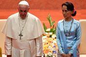 Di Myanmar, Paus Fransiskus Sama Sekali Tak Sebut 'Rohingya'