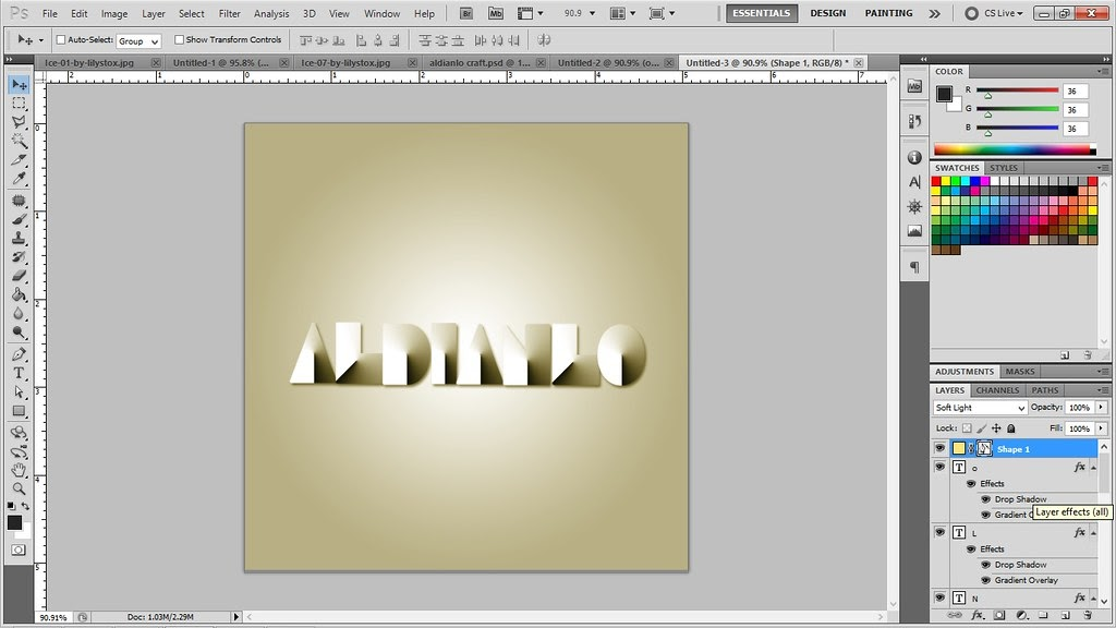 Cara Membuat Gambar Menyatu Dengan Background Di Photoshop ...