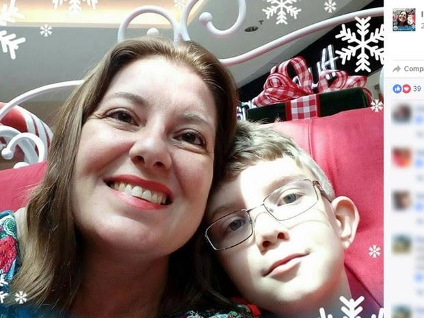 Isamara e o filho João Victor foram assassinados pelo ex-esposo dela, e pai do menino, em Campinas (Foto: Reprodução / Facebook)