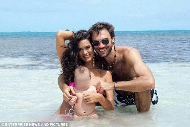 Loving: Former Miss Venezuela Monica Spear Mootz and Thomas Berry had maintained a good relationship following their divorce and family say they were close to getting back together
