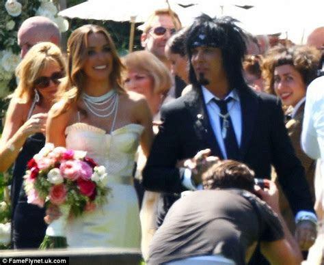 Chatter Busy: Nikki Sixx Married (Wedding Photos)
