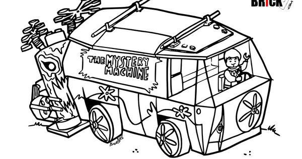 Disegni Da Colorare Lego Ghostbusters E Wall Auto Electrical