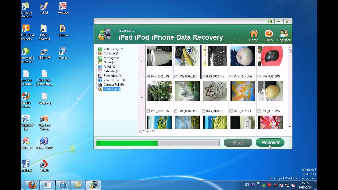 iStonsoft iPad\/iPod\/iPhone Data Recovery Windows  Recover Deleted Files from iPhone  YouTube