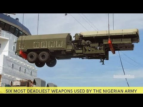 6 Most Deadliest Weapons Used By The Nigerian Army. (pictures)