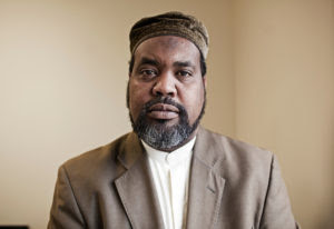 Imam Muhamed Magid, Executive Director of the All Dulles Area Muslim Society (ADAMS), in Sterling, Va, poses for a portrait in his office at the ADAMS center on July 28, 2011.