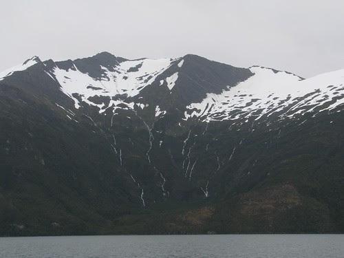 brazo Noroeste waterfalls