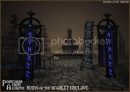 Postcards of Azeroth: Ruins of the Scarlet Enclave, by Rioriel Ail'thera