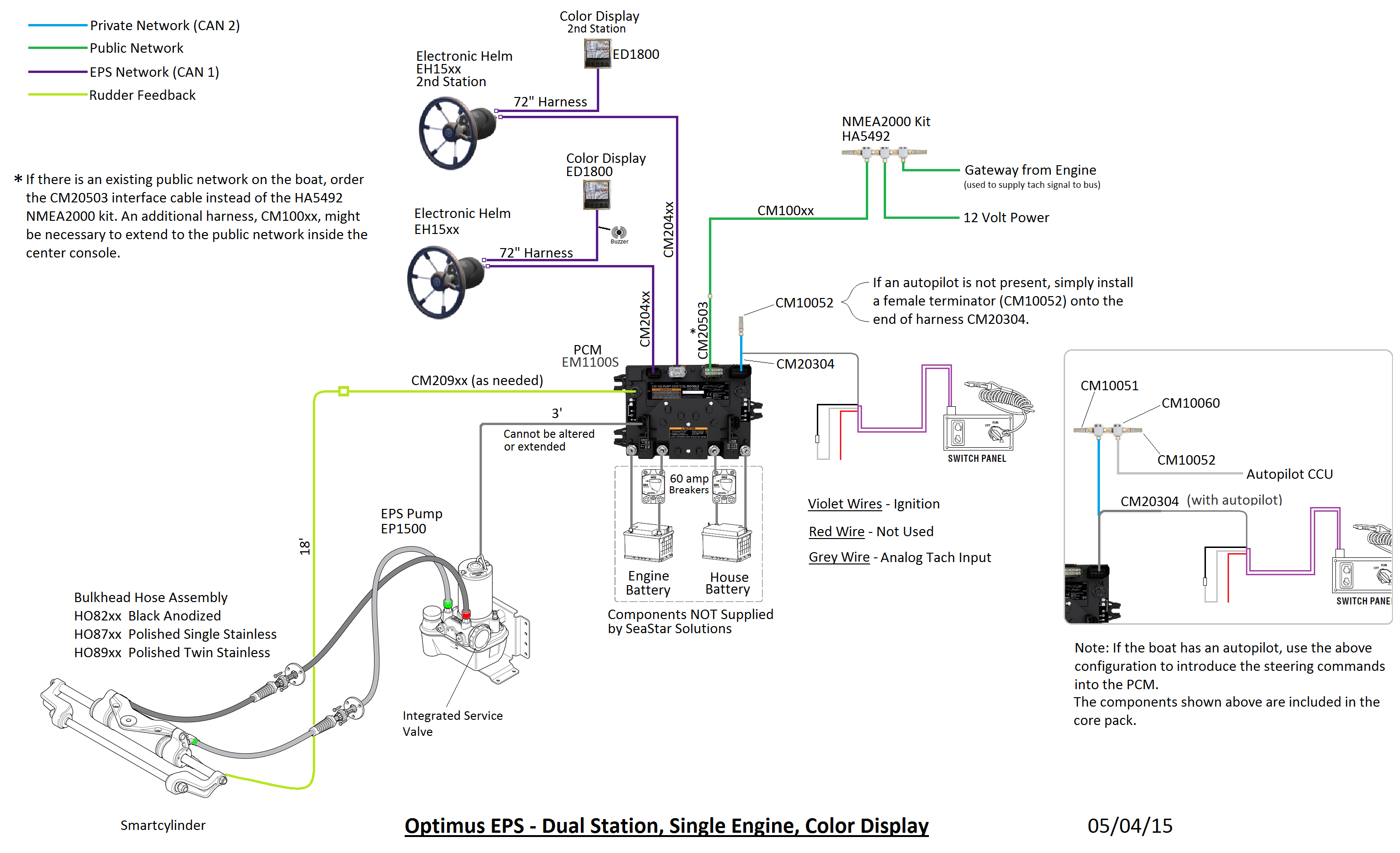 Boat Station Wiring Diagram For Two