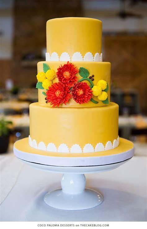 1000  ideas about Yellow Wedding Cakes on Pinterest