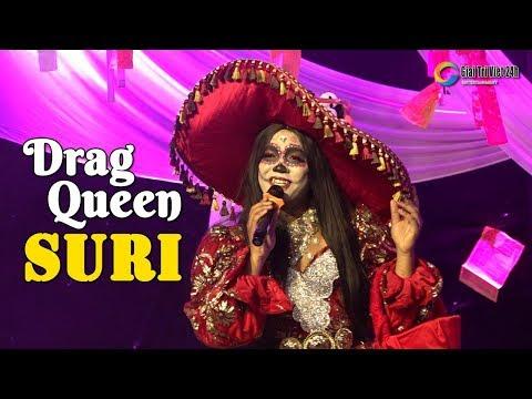"""Suri drag queen """"Em Gái Mưa"""" bùng nổ sân khấu lô tô Sài Gòn Tân Thời"""
